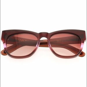 Wildfox Sunwear Winston Frame in Purple Ombre